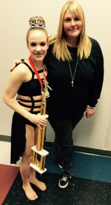 Abby with Amy Martinez (favorite dance teacher)